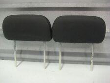 2007-2010 FORD EDGE OEM BACK SEAT REAR HEAD RESTS HEADRESTS PAIR BLACK CLOTH