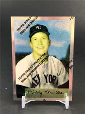 1996 TOPPS MICKEY MANTLE #4 1954 NEW YORK YANKEES