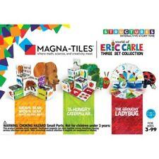 Magna-Tiles Eric Carle Collection Hungry Caterpillar/Brown Bear/Grouchy Ladybug