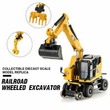 1:87 Scale Navvy Truck Cat Caterpillar M323 85612 F Rail-Road Excavator Model