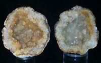 Quartz Keokuk Geode With Citrine Highlights, Hamilton Illinois #92