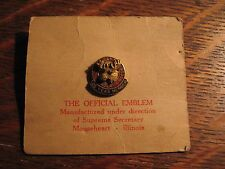 Loyal Order Of Moose Lapel Pin - Vintage PAP Lodge Mooseheart Illinois 25 Years