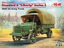 "Standard B ""Liberty"" Series 2, WWI US Army Truck 1/35 ICM 35651"