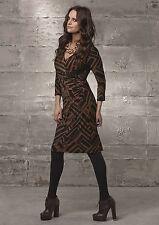 Damenkleid Etuikleid 34 NEU Jerseykleid Business Abend braun apart 880051 777