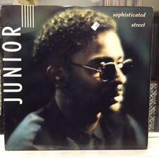 NM LP~JUNIOR~Sophisticated Street~[Original 1988 LONDON Issue]~Modern Soul~Funk~
