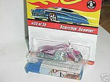 HW HOT WHEELS CLASSICS 1 #22 SCORCHIN SCOOTER MOTORCYCLE PNK HOTWHEELS VHTF RARE