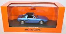 Véhicules miniatures bleus MINICHAMPS pour Fiat