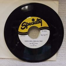 Rock & Roll 45 Big Boy Myles & Shaw-wees Who's Been Fooling You NM Repro 170648