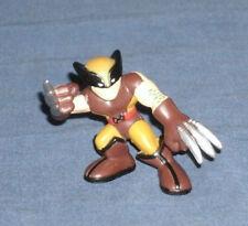 Marvel Super Hero Squad RARE Brown Costume Wolverine Logan Bent Right Arm X-Men