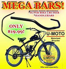 2-Stroke 66Cc/80Cc Motorized Bicycle Kit Beach Cruiser Handlebars For Bikes