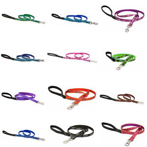 Pet Dog Training Lead 1/2 Inch Width   Strong Puppy Nylon Patterned Lead