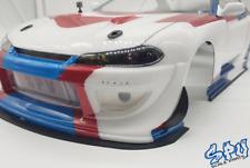 Universal Front Canards / Flaps + Schrauben RC Drift Body Karosserie 1/10