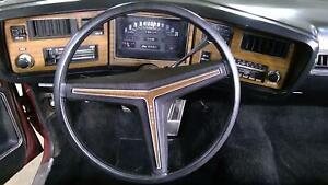 71-75 Buick Centurion Convertible Woodgrain Steering Wheel Assembly
