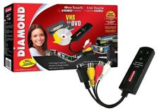Diamond Vc500 Usb 2.0 One Touch Vhs To Dvd Video Capture Device With Easy To Use