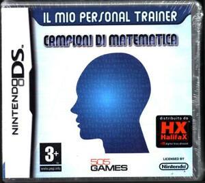 Il Mio Personal Trainer: Campioni Di Matematica Videogioco per Nintendo DS di...