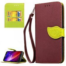 Handy Tasche für Asus Zenfone 2 ZE550ML  ZE551ML  Schutz Schale Wallet ASU-10