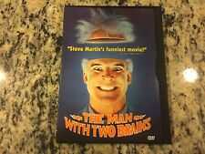THE MAN WITH TWO BRAINS VERY GOOD SNAPCASE DVD '83 STEVE MARTIN SCREWBALL COMEDY