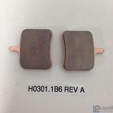 Erik Buell EBR Motorcycle REAR BRAKE PAD SET (H0301.1B6 Rev A)