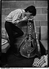More details for johnny marr of the smiths poster size 84.1cm x 59.4cm-approx 34''x 24''