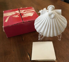 "Margaret Furlong Shell Ornament ""Celebration Angel"" Joyeux Noel #555/10,000"