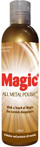 Magic All Metal Polish™ Australia's #1 selling Metal Polish - 200ml Bottle