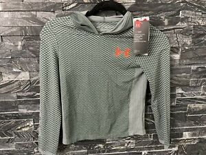 NEW Under Armour Boys Heatgear Long sleeve Hoodie Size Youth XS 1318206-012