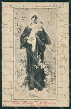 Roma Città Nicolò Barabino Madonna della Primavera cartolina XB4181