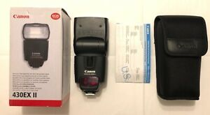 Canon 430EX II Speedlite 87% condition tested fully working