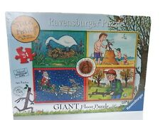 Stickman Giant Floor Puzzle Ravensburger   24 Pieces New Factory Sealed..