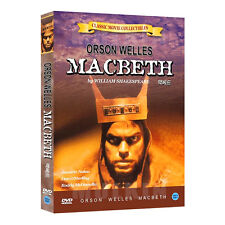 Macbeth (1948) DVD - Orson Welles, Jeanette Nolan (*New *Sealed *All Region)