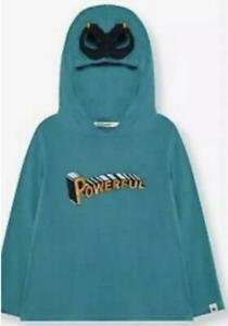 Billy Bandit BNWT Boy's Green Powerful Mask Hoodie - Use code 3for2 on any 3 Bil