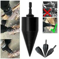 Twist Firewood Drill Bit High Speed Wood Splitter Screw Splitting Cone Driver