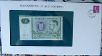 Banknotes of All Nations Sweden 10 Kronor 1979 serie S P-52d UNC BIRTHDAY  1936