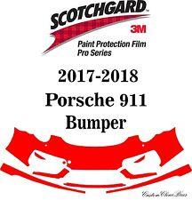 3M Scotchgard Paint Protection Film Pro Series Clear Bra 2017 2018 Porsche 911