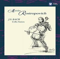 Mstislav Rostropovich - Bach: The Cello Suites [CD]