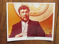 """PETER USTINOV(Died-2004)(""""Romanoff And Juliet"""")Signed 8 X 10 Glossy Color Photo"""