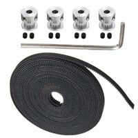 5M GT2 Zahnriemen Timing Belt Mit 16T Zahnrad Pulley Für RepRap 3D Drucker Prusa