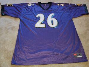 Vtg Baltimore Ravens Rod Woodson Jersey XXXL