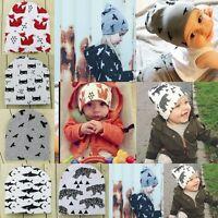 Unisex Cotton Beanie Hat For New Born Kid Child Baby Boy/Girl Soft Toddler Cap