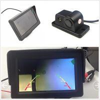 "2in1 Car Reversing Radar&Rear View Night Vision Camera+4.3"" LCD Monitor Display"
