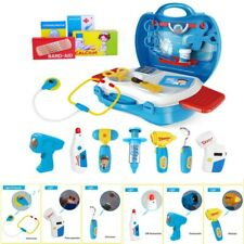 Childrens Doctor Carry Case Kit Child Nurse Medical Set Toy Kids Gift Role Play