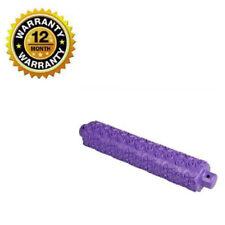 Rolling Pin Purple Non-Stick Fondant Cupcake Textured Acrylic Roll Decor Tools