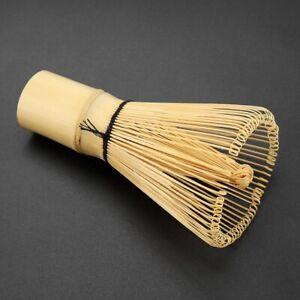 Natural Bamboo Tea Whisk Chasen Preparing Matcha Powder Brush Tool