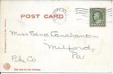 Deer Park, Haines Falls NY Handsome Vintage Postcard used 1909