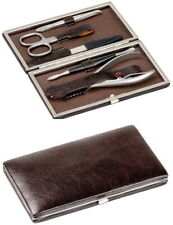 Solingen Dovo Manicure Case Leather Stainless Steel Set Nail Nippers Kombischere