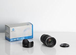 Konica Minolta AF Zoom 28-75mm f2.8 D Lens, For Sony Minolta Alpha A Mount