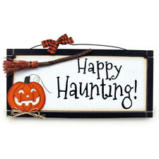 Happy Haunting - Halloween Plaque | Heartwarmers Gifts
