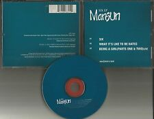 MANSUN Six EP w/ UNRELEASED & LIVE TRX & BONUS POSTER CD Single USA Seller 1999