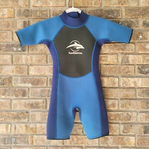 Konfidence Shorty Children's Wetsuit Nautical Blue 9 to 10 yrs NEW