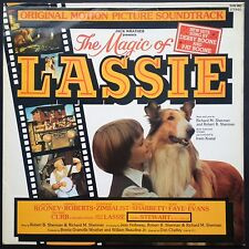 Sherman Bros MAGIC OF LASSIE soundtrack LP Debby +Pat Boone James Stewart Kostal